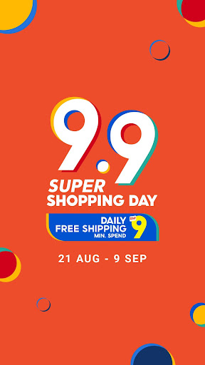 Shopee MY: 9.9 Shopping Day 2.60.07 Screenshots 2