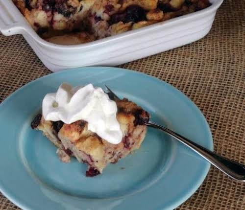 """Classic Cranberry Bread Pudding """"This was delish! I just wrapped up the..."""