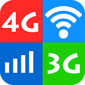 Wifi, 5G, 4G, 3G speed test