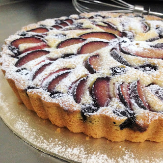 Plums and blueberries Cake.