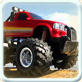 MONSTER DRIVE TRUCK RACER 3D