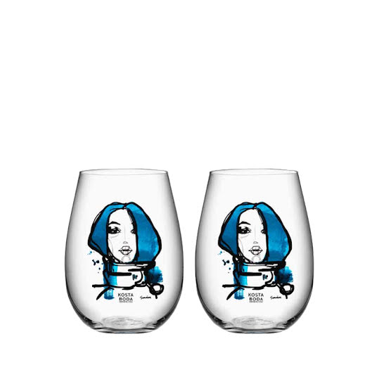 Kosta Boda All About You Tumbler 2-pack Miss You