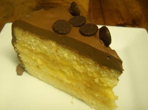 Orange Curd White Cake