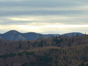 Photo: Sirnitzgupf (956m) mit noname, Gaisstein (974m), Kalter Berg (1044m)