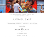 Book signing and conversation with artist Lionel Smit : Book Lounge