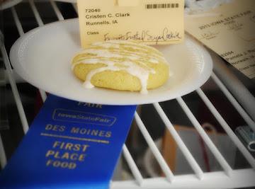 Grandma's Double Citrus Butter Cookies Recipe