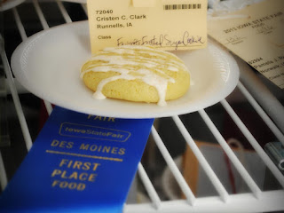Grandma's Double Citrus Butter Cookies Recipe
