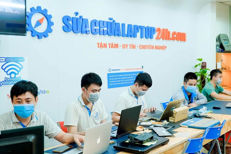 Cài đặt phần mềm tại trung tâm Sửa chữa Laptop 24h .com