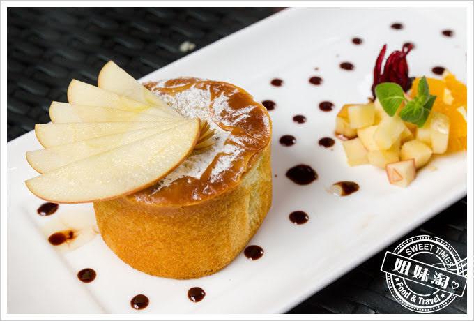貝隆餐廳壽星優惠-蜂蜜起司岩燒蛋糕