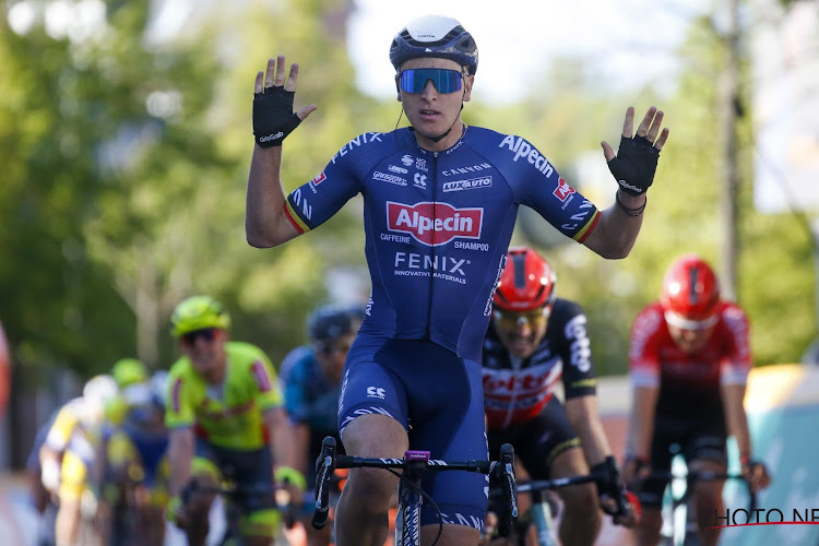"""Tim Merlier trots met tweede ritzege in Benelux Tour: """"Plots kon ik alles nog goed maken"""""""