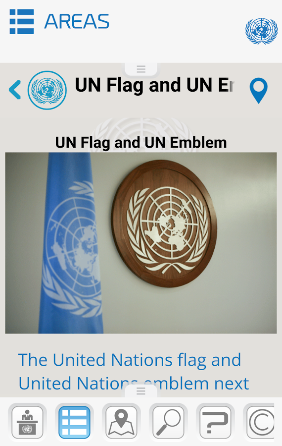 United Nations Visitor Centre- screenshot