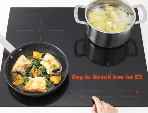 Sửa bếp từ Bosch mã lỗi E5