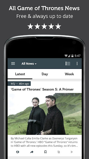 News for Game of Thrones