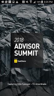2018 Advisor Summit - náhled