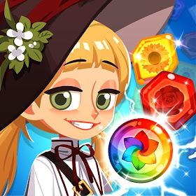 Цветочная ведьма: пазл