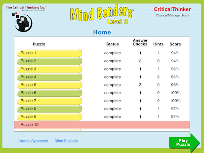 Mind Benders® Level 2- screenshot thumbnail