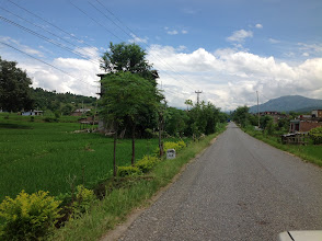 Photo: ...on the way to Lamjung. This is a feeder road leading up to Nepal Danda, Tanahun Province