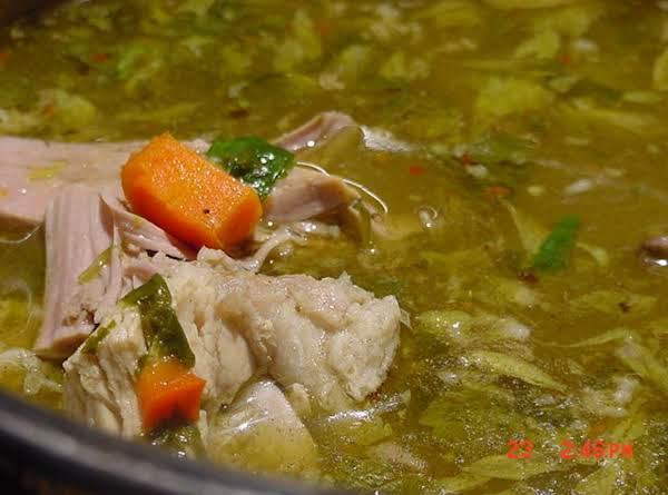 Bonnie's Turkey Soup