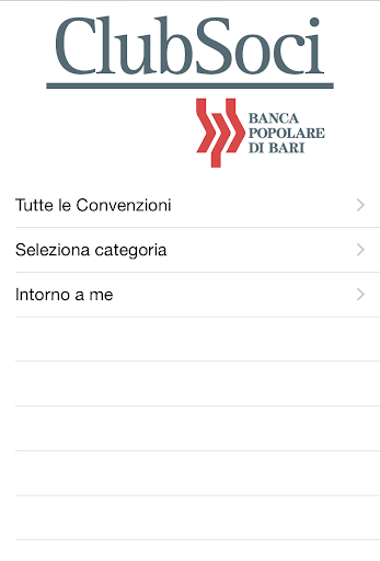 ClubSoci Banca Popolare Bari