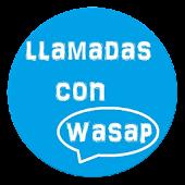 Llamadas gratis con wasap