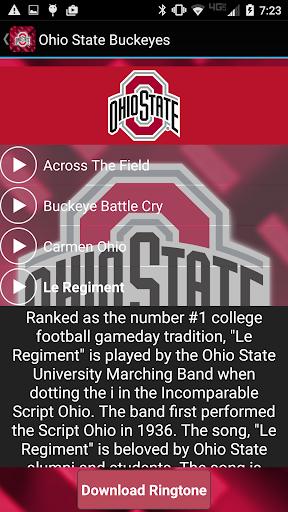 Ohio State Ringtones Official screenshot