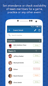 InstaTeam Sports Team Manager screenshot 3