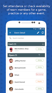 Instateam Sports Team Management for team managers- screenshot thumbnail