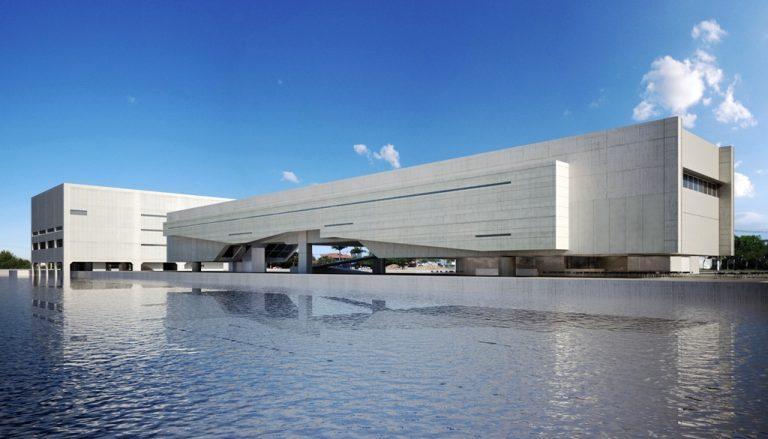 Obra do arquiteto em sua cidade natal, projetada em 2011, está parada. (Fonte: Metro Arquitetos/Reprodução)