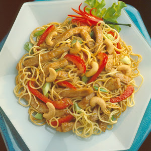 Thai Pork and Noodle Salad