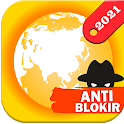 Azka Anti Block Browser - Unblock without VPN icon