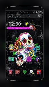 Sugar Skull Theme screenshot 0