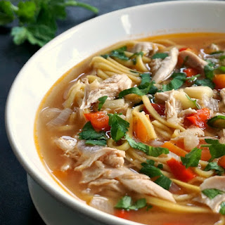 Homemade Chicken & Noodles Recipes