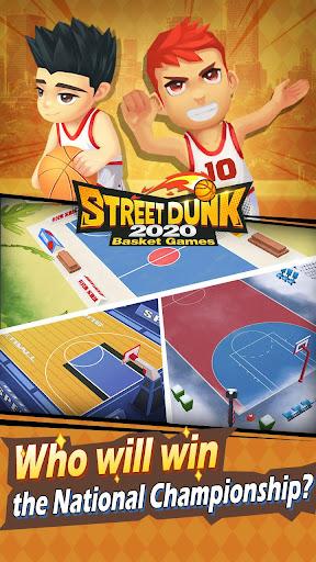 Street Dunk-2020 Basket games screenshot 5