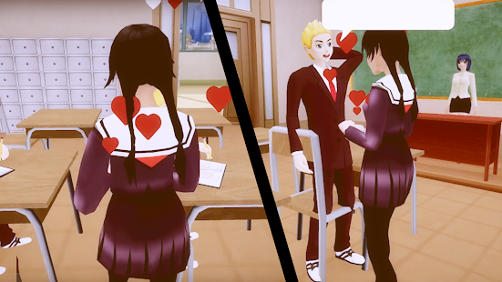 In School Simulator Yandere Game - náhled