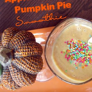 Apple Cinnamon Pumpkin Pie Smoothie
