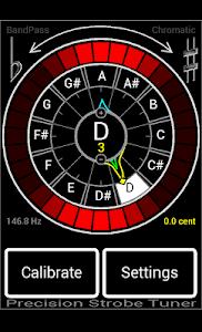 Precision Strobe Tuner Demo screenshot 4