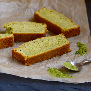 Matcha (Green Tea) Pound Cake