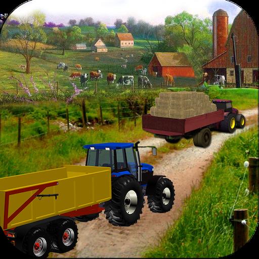 Real Farm Tractor Transporter Simulator 2017