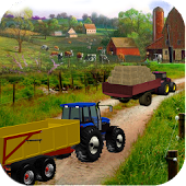 Farming Tractor Adventure - Sim Driving 2018