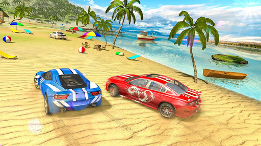 Water Surfer car Floating Beach Drive  screenshots 13