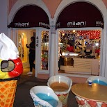 Milani Gelato on Espanola Way in Miami, Florida, United States