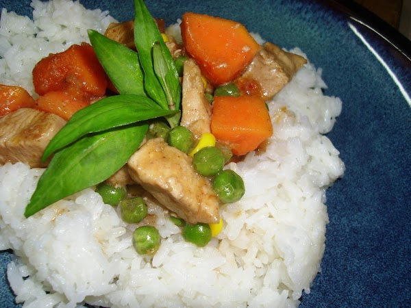 Mango Vanilla Curry With Chicken Recipe