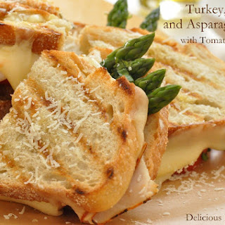 Turkey and Swiss Panini.