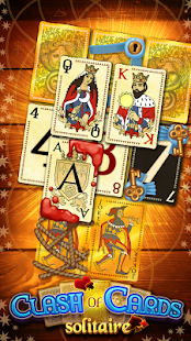 Clash of Cards: Solitaire- screenshot thumbnail