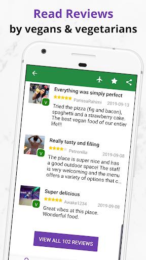 Find Vegan Restaurants & Vegetarian Food- HappyCow 62.0.26-free-v2 screenshots 7