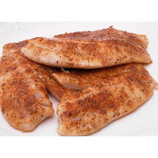 Easy Baked Tilapia Fillets.