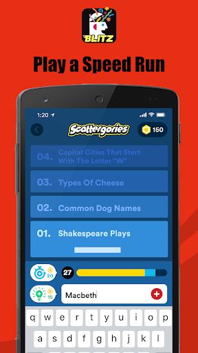 Scattergories Blitz - Ready, Set, List! 1.1.2 screenshots 4