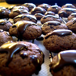 Chocolate Sand Cookies