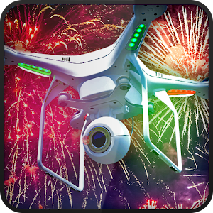 download Drone 3D Fireworks apk