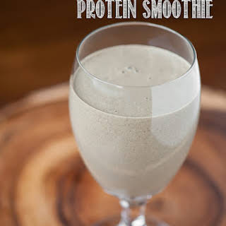 Healthy Chocolate Protein Smoothie.